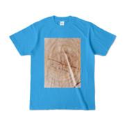 Tシャツ ターコイズ SIMPLE-STUMP