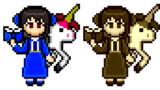 【ドット絵】邪眼の姫の物語の聖女アリス