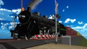 [MMDモデル配布]USRA Light Mikado 蒸気機関車