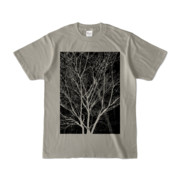 Tシャツ シルバーグレー KURO.KI
