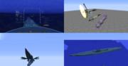 【MCヘリ】霧の巡航潜水艦 イ401 とその他