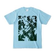 Tシャツ ライトブルー PLANT_GREEN
