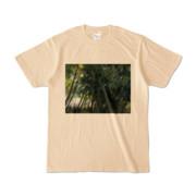 Tシャツ ナチュラル Photo-Bure-Nature