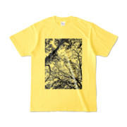 Tシャツ イエロー FOREST_MORI