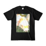 Tシャツ ブラック 人面魚ちゃん