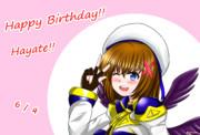 はやてたん誕生日おめでとう!