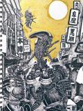 【お絵描き】alien を描いてみた!