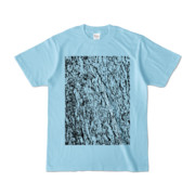Tシャツ ライトブルー MOKUME-MOKUME