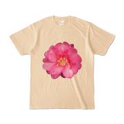 Tシャツ ナチュラル BIG花