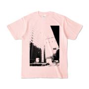 Tシャツ ライトピンク Shinjuku_HONYA