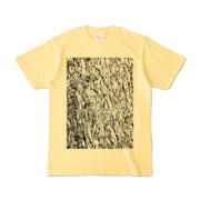 Tシャツ ライトイエロー MOKUME-MOKUME