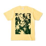 Tシャツ ライトイエロー PLANT_GREEN