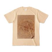 Tシャツ ナチュラル SIMPLE-STUMP
