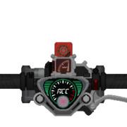 仮面ライダーアクセル アクセルドライバー