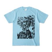 Tシャツ ライトブルー Ki&Happa