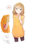 ■照れ桃子