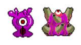 【ドット絵】蛇と邪神とアルフレイム冒険譚のおぬめちゃん