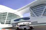 FIA-GT1 DB9 inYasMarina2011