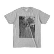 Tシャツ 杢グレー GREEN_ROAD