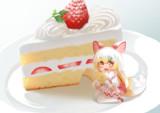 ショートケーキけもみみ化!
