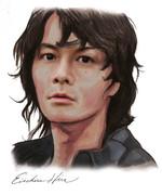 福山雅治の似顔絵