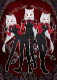 三つ子悪魔