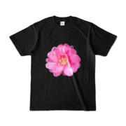 Tシャツ ブラック BIG花