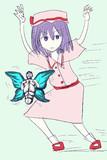 この世のものとは思えぬ美しい蝶を追うHSK姉貴