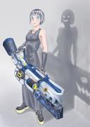 武器持つ少女