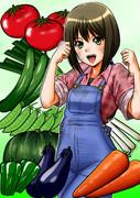 農ギャル、福島美菜です。