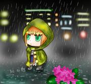 雨とリヨセイバー