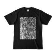 Tシャツ ブラック MOKUME-MOKUME