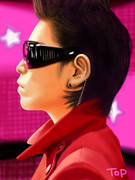 BIGBANG【T.O.P】模写