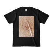 Tシャツ ブラック SIMPLE-STUMP