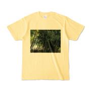Tシャツ ライトイエロー Photo-Bure-Nature