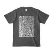 Tシャツ チャコール MOKUME-MOKUME