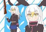 ライフル回すアレをやってるハクトウワシさん