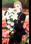 ヴィル様と花
