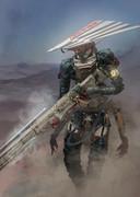 砂漠の狙撃手