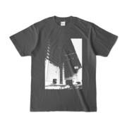 Tシャツ チャコール Shinjuku_HONYA
