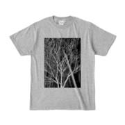 Tシャツ 杢グレー KURO.KI