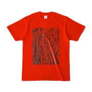 Tシャツ レッド MOKUME-MOKUME