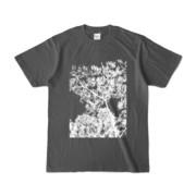Tシャツ チャコール Ki&Happa