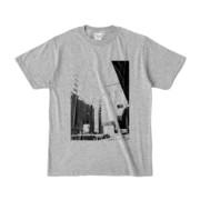 Tシャツ 杢グレー Shinjuku_HONYA
