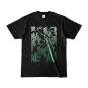 Tシャツ ブラック PLANT_GREEN