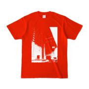 Tシャツ レッド Shinjuku_HONYA