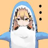 サメに食べられたキタキツネ