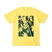 Tシャツ イエロー PLANT_GREEN