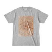 Tシャツ 杢グレー SIMPLE-STUMP
