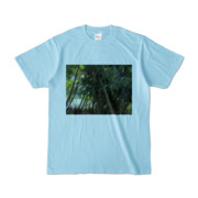 Tシャツ ライトブルー Photo-Bure-Nature